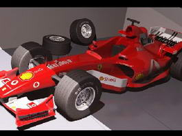 F1 Car 3d preview