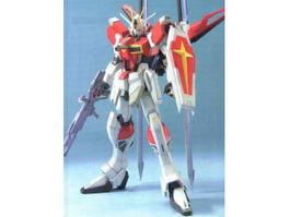 Force Impulse Gundam 3d model preview
