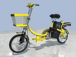 Electric Bicycle 3d preview
