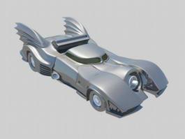 Batmobile Car 3d model preview
