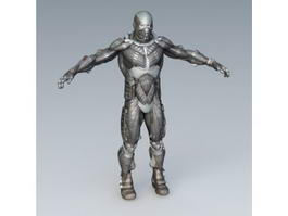 Sci-Fi Armor 3d preview