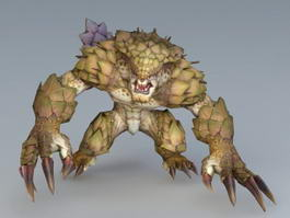 Monster Beast Creature 3d model preview