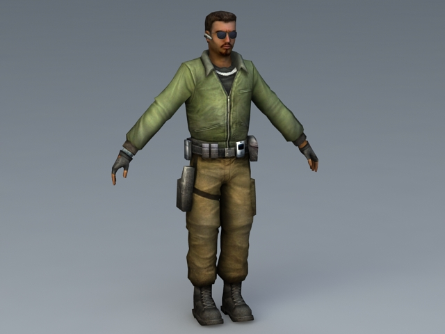 The Leet World 3d rendering
