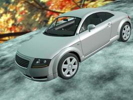 Coupe Car 3d model preview
