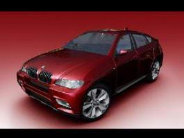 BMW Sedan Car 3d preview