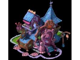 Cartoon Pet Shop 3d preview