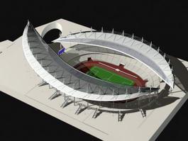 Sports Stadium 3d preview