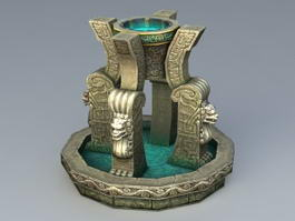 Fantasy Fountain 3d preview