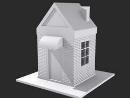 Small House 3d model preview