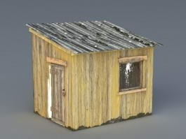 Old Wood Shed 3d preview