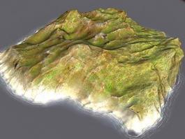 Small Barren Island 3d preview