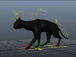 Black Cat Walk 3d preview