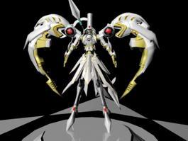 Saint Seiya Character 3d model preview