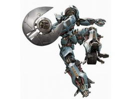 Transformers Jazz 3d model preview