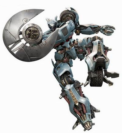 Transformers Jazz 3d rendering