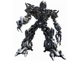 Transformers Megatron and G1 3d model preview