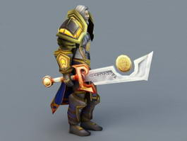 Highlord Tirion Fordring 3d preview