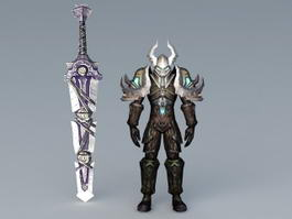 Death Knight 3d preview