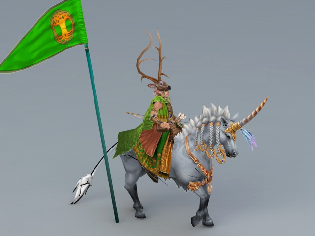 Heroe of Might and Magic 3d rendering