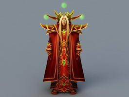 Prince Kaelthas Sunstrider 3d preview