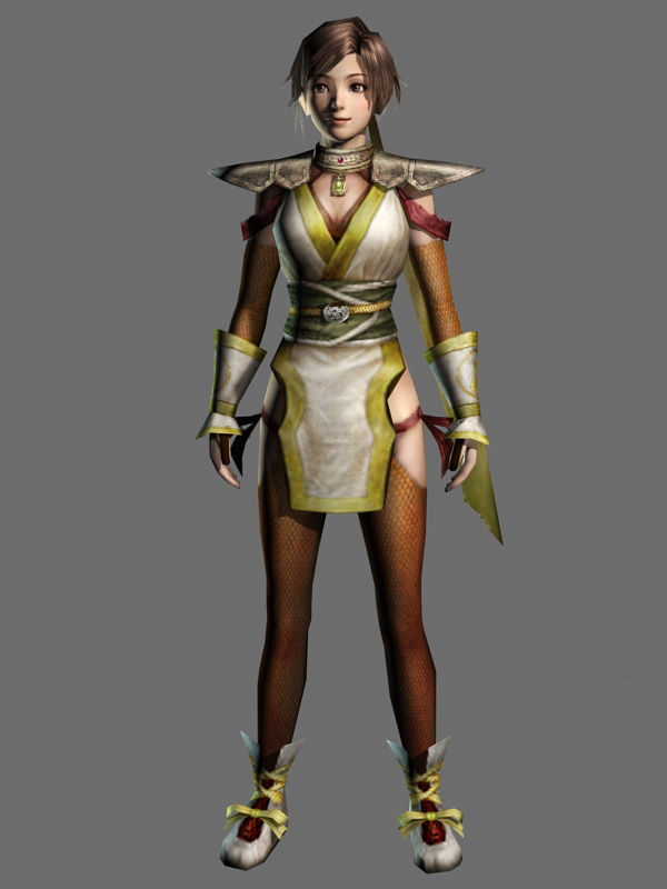 Chinese Warrior Princess 3d Model 3ds Max Files Free