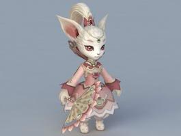 Queen Cat 3d preview