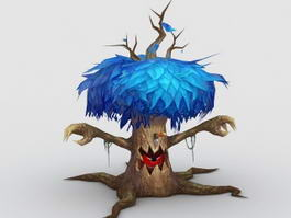Anime Treant 3d preview