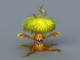 Green Treant 3d preview