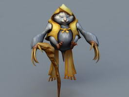 Mouse Monster 3d model preview