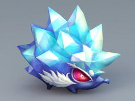 Ice Hedgehog 3d preview