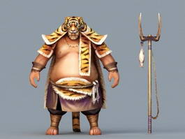 Barbarian Hunter 3d preview
