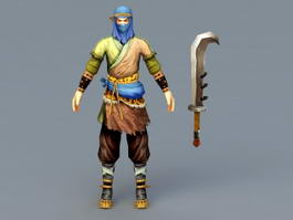 Medieval Brigand 3d preview