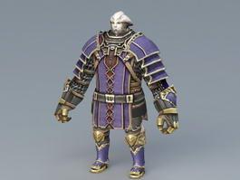 Final Fantasy Galka 3d preview