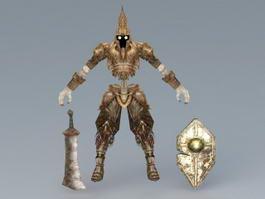Death Armor Set 3d preview