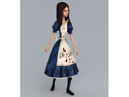 Alice Madness Returns 3d preview