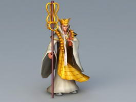 Xuanzang Character 3d preview