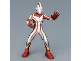 Ultraman Figure 3d model preview