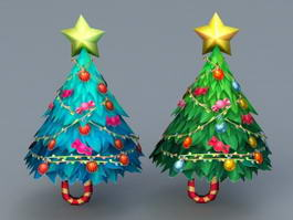 Christmas Trees 3d preview