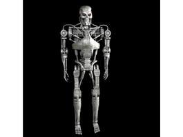 Terminator Endoskeleton 3d model preview