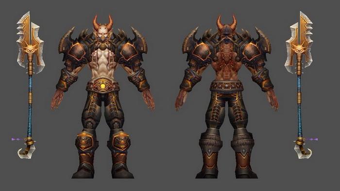 Hell Warrior 3d rendering