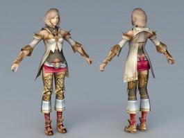 FFXII Ashe Princess 3d preview