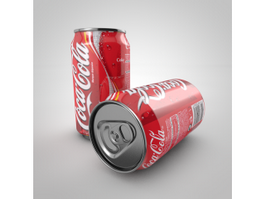 Coca Cola Can 3d preview