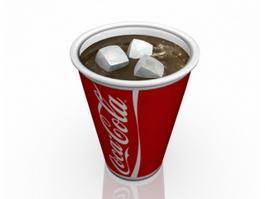 Coca-Cola Cup 3d model preview