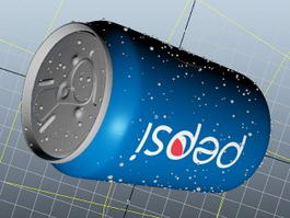 Pepsi Can 3d preview