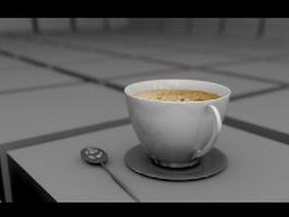 Cup of Coffee 3d preview