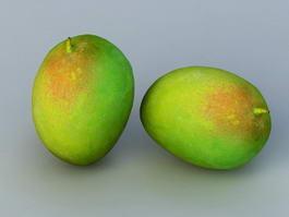 Green Mango 3d preview