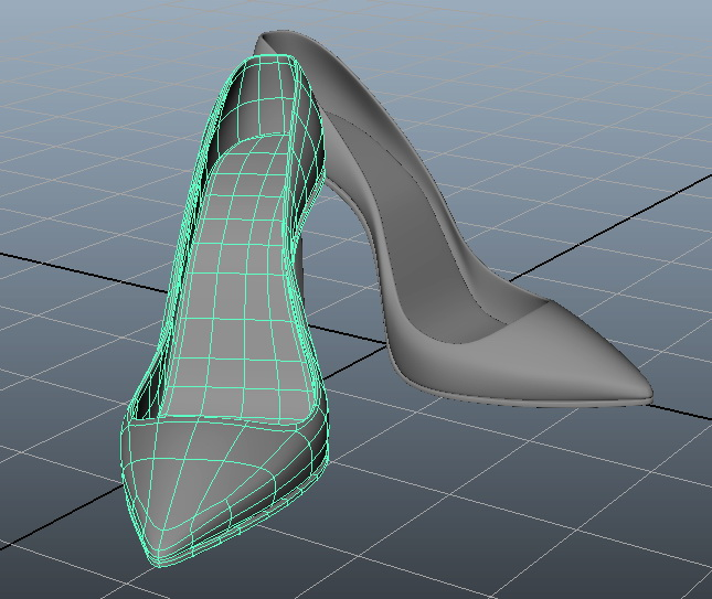Stiletto High Heel Shoes 3d rendering