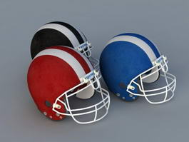Football Helmet 3d preview