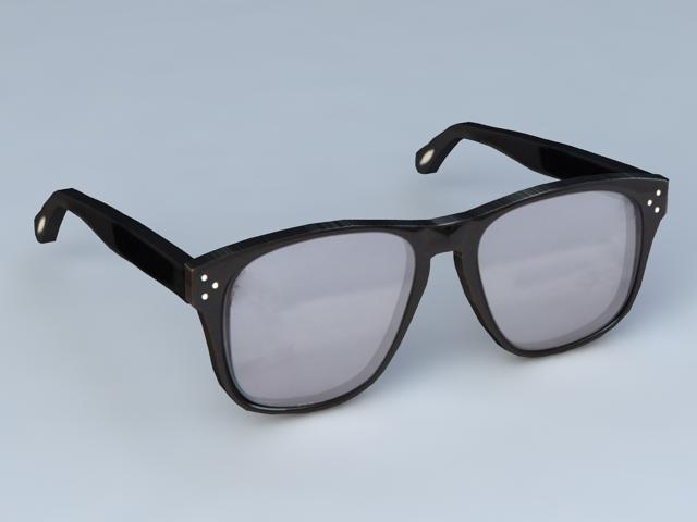 Fashion Eye Glasses 3d rendering