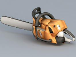 Electric Chain Saw 3d preview